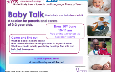 Helping babies talk – free session for parents