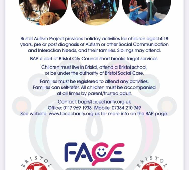 Bristol Autism Project provides holiday activities