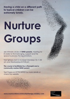 NURTURE GROUP FOR PARENTS OF CHILDREN WITH SEND